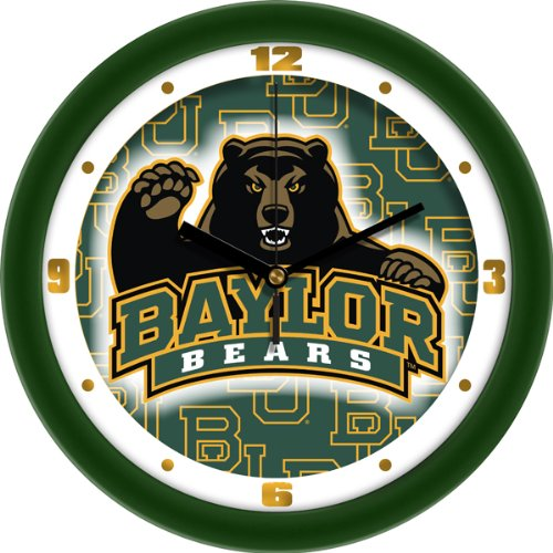 Bears Ncaa Wall Clock - SunTime NCAA Baylor Bears Wall Clock