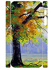 3D Print Funky Maple Tree Slim Phone Snap On Case for Iphone 5 5S