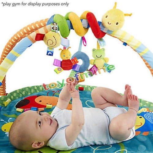 Spiral Stroller Car Seat Travel Lathe Hanging Toys Baby Rattles Toy