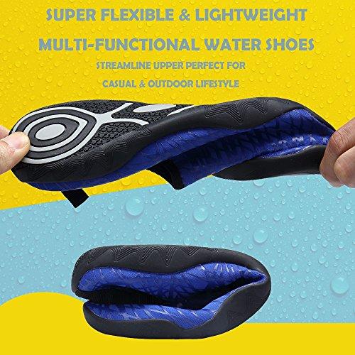 Sikelo Lichtgewicht Sneldrogende Sport-waterschoenen Voor Heren En Dames Diepblauw