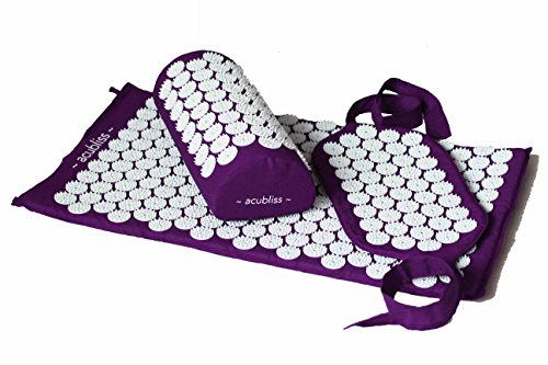 Acubliss Violet 3 Set Tapis,