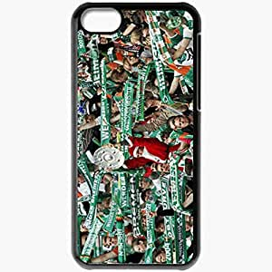 Personalized iPhone 5C Cell phone Case/Cover Skin AC Milan Black