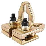 YaeMarine Heavy Duty 5 Ton Right-Angle Two-Way Auto Body Pull Clamp for Car Body Repair Tool Kit