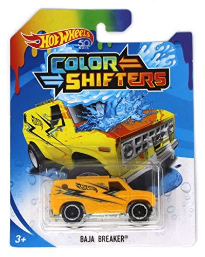 Hot Wheels Color Shifters Baja Breaker - Yellow to Orange