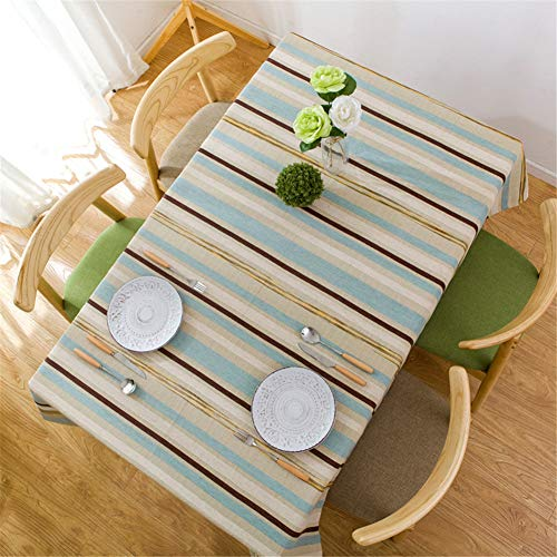 Striped Tablecloth Art Living Room Hotel Tablecloth/Beach Antifouling, Tarpaulin Tablecloth A-4 110110Cm
