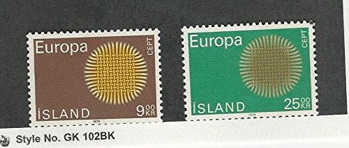 Iceland, Postage Stamp, 420-421 Mint LH, 1970 Europa
