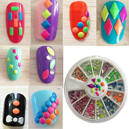 Amazon New8beauty Nail Art Kit 3d Rhinestones Colorful And