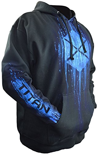 Destiny 2 Hoodie Airbrushed Titan Gamer Gifts Add Your Gamertag Adult - Sweatshirt Destiny