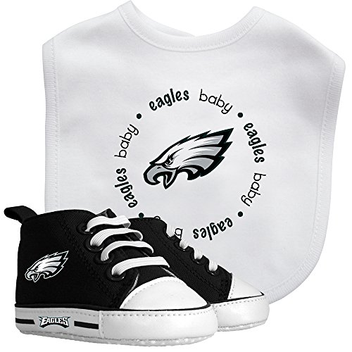 Baby Fanatic Bib & Prewalker Gift Set- Philadelphia Eagles