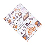 Beautiful Candy Nougat Wrappers Candy Greaseproof Paper Baking Twisting Wax Papers, #D17