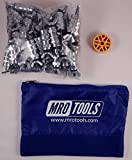 50 3/32 Standard Wing-Nut Cleco Fasteners w HBHT Tool & Carry Bag (KWN1S50-3/32)