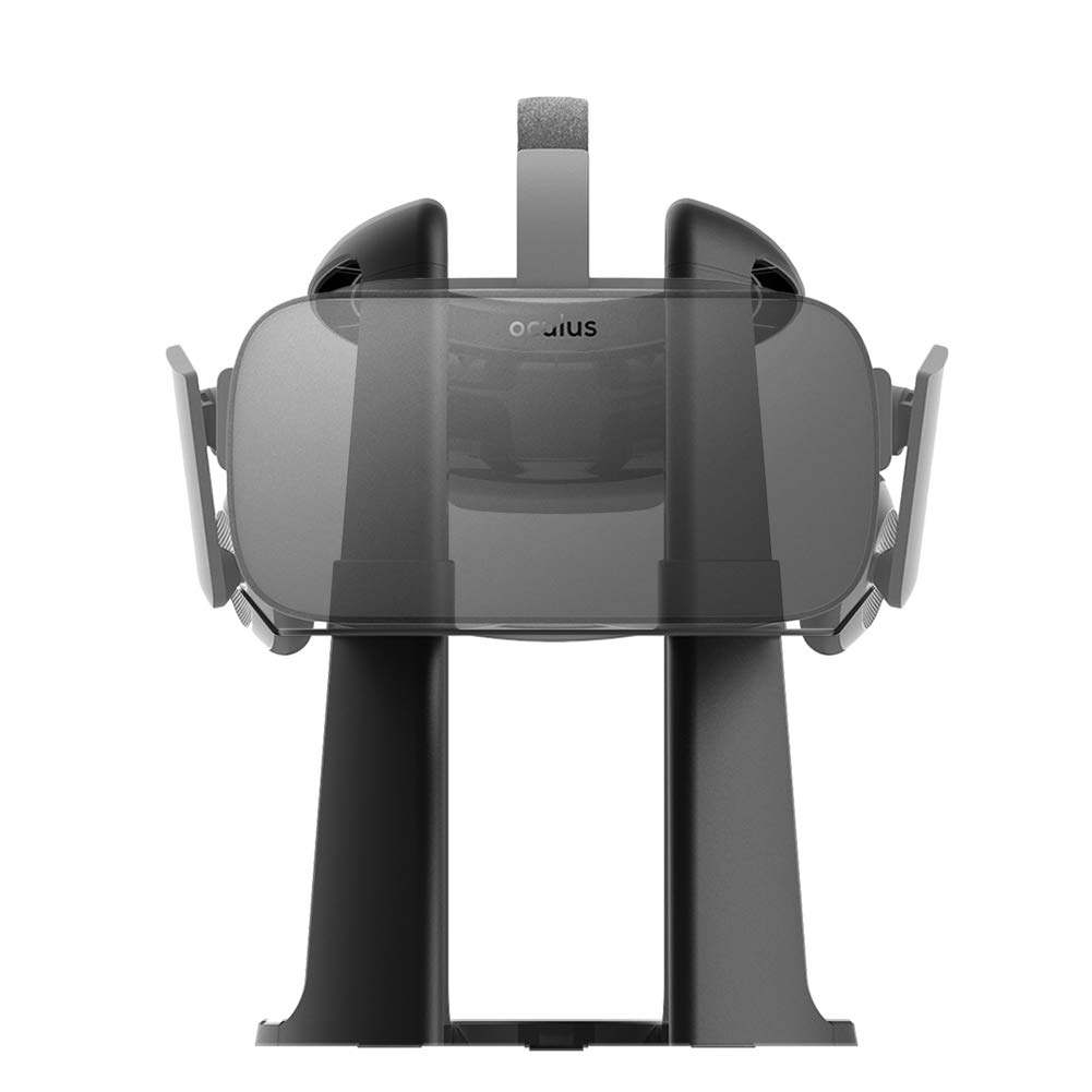 Dinly VR Stand, Virtual Reality Headset Display Holder for all VR Glasses - HTC Vive, Sony PSVR, Oculus Rift, Oculus GO, Google Daydream, Samsung Gear VR and MERGE VR/AR