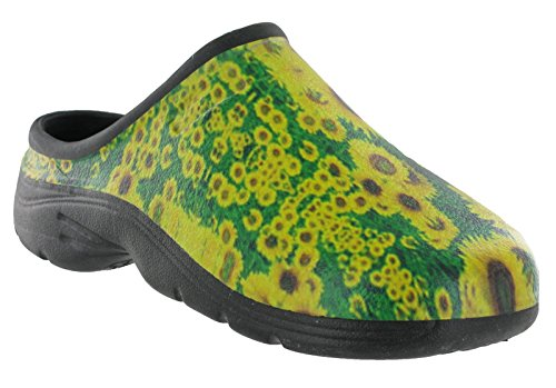Clog Gardening Door Waterproof sunflower Unisex Womens Mens Out Shoes Garden wEYWTq