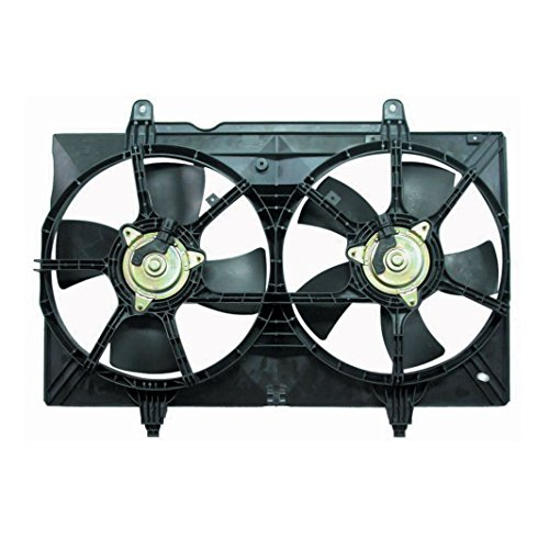 Radiator Dual Cooling Fan Assembly for 04-09 Nissan Quest