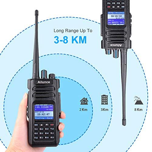 Ailunce HD1 DMR Digital Two Way Radio Dual Band Amateur