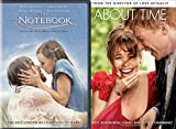 The Notebook + About Time Romance Movie DVD Rachel McAdams Set Double Love Twice as Much