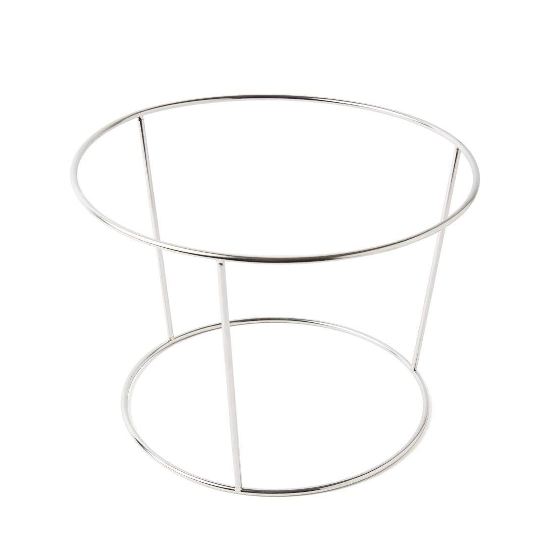 Stalwart Seafood Platter Stand Only Stainless Steel Rack Tray Organiser Display