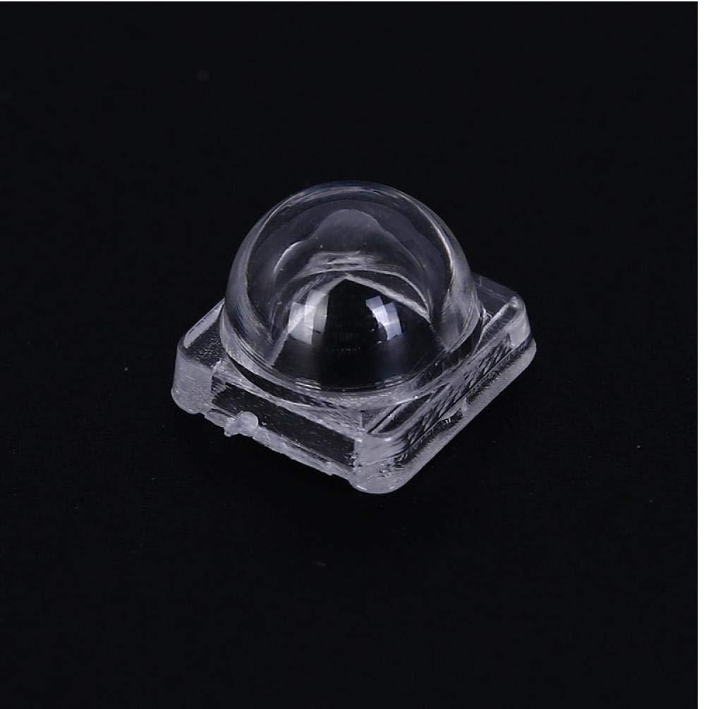 8mm PiniceCore Lente 50pcs LED Reflector Colimador para 5050 SMD 30 60 Convexa de 120 Grados de la Lente /óptica Reflector Colimador 10