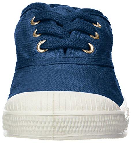 Bensimon Unisex-Kinder Tennis Lacets Sneaker Blau (Bleu)