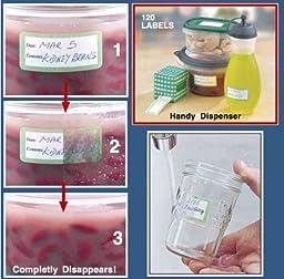 Dissolve-A-Way® Food Labels