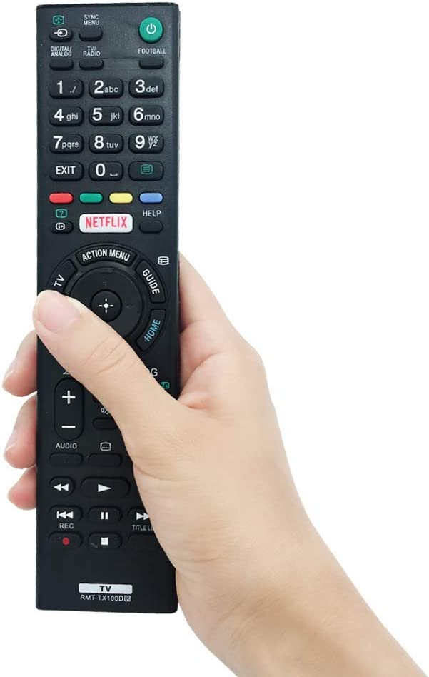 MYHGRC Nuevo Control Remoto de reemplazo de TV RMT-TX100D para ...