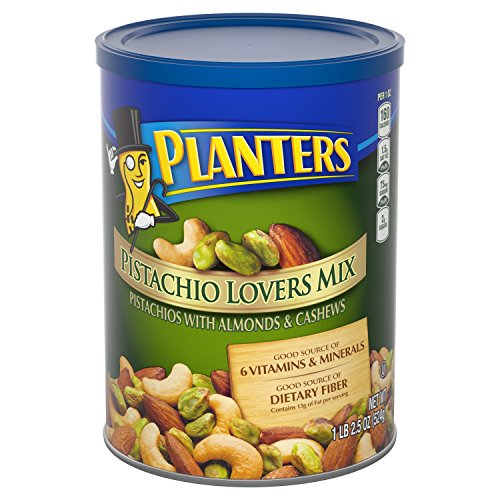 Planters Pistachio Lovers Salted Canister product image