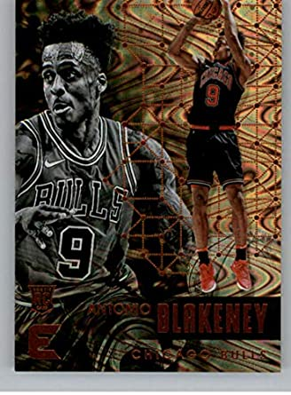 2017-18 Panini Essentials Spiral Basketball Card  143 Antonio Blakeney  Chicago Bulls Official NBA 5817f01dd