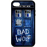 Caitin Doctor Who Tradis Bad Wolf Cell Phone Cases Cover for iPhone 5c