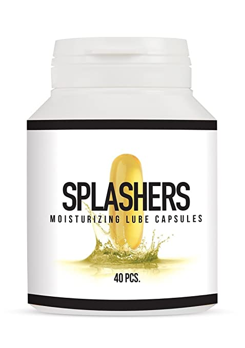 Pharmquests Splashers Pastillas de Lubricante - 72 gr