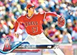 2018 Topps Factory Set Variation #700 Shohei Ohtani Baseball Rookie Card