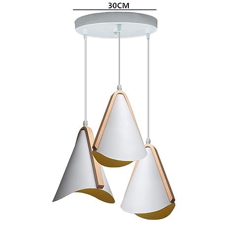 WWWJ Pantalla de lámpara Colgante de Estilo Moderno y Simple ...