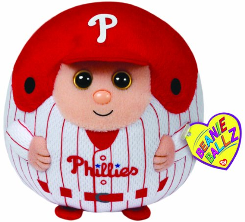 Ty Beanie Ballz MLB Philadelphia Phillies Medium Plush (Philadelphia Phillies Plush)