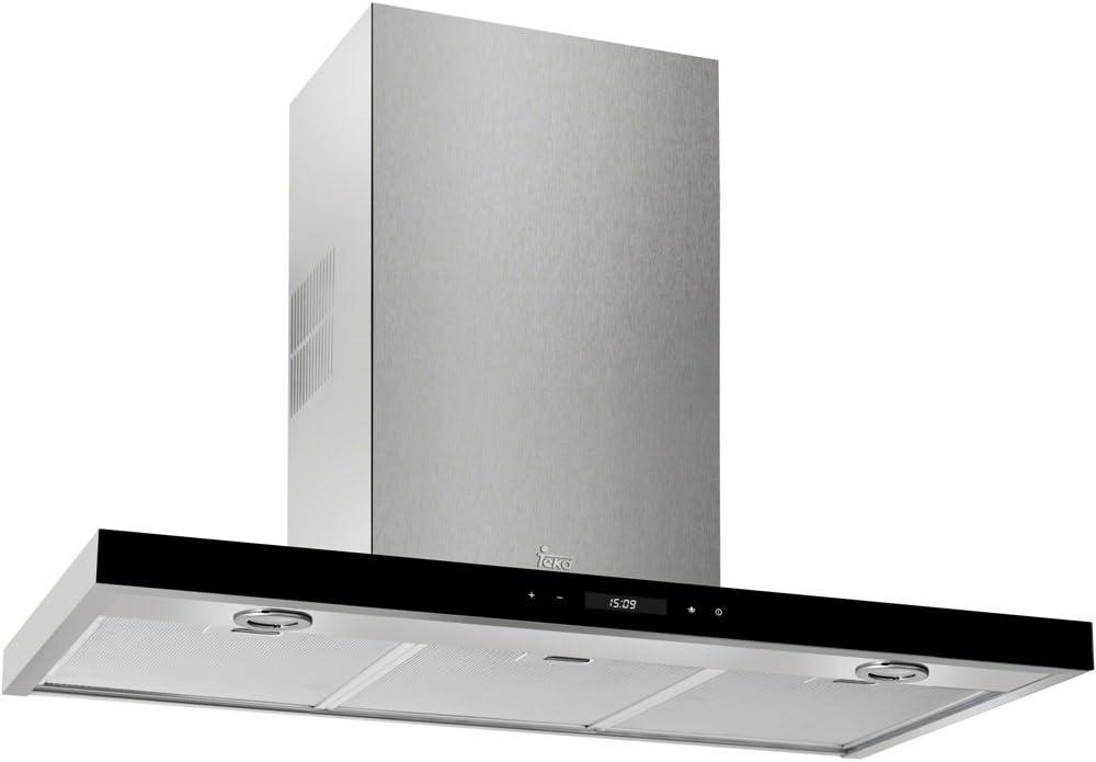 Teka DH 1185 T De pared Acero inoxidable 807m³/h A - Campana (807 m³/h, Canalizado, A, A, C, 68 dB): Amazon.es: Grandes electrodomésticos