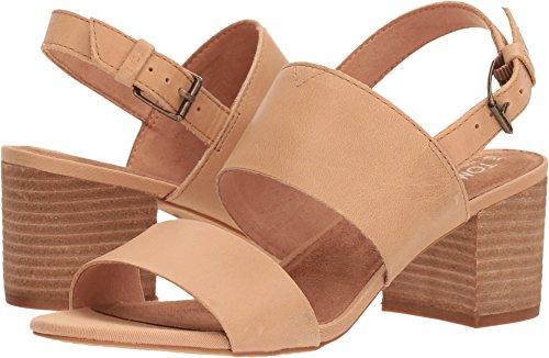 TOMS Women's, Poppy Mid Heel Sandals Honey 8.5 M -