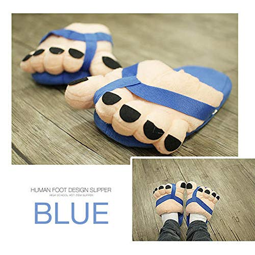 Skid À Cotton Antidérapants Bleu Drag Rawdah Slip Couple Anti Rayures Coton Maison Fines Outdoor Chaussons nn Indoor Women's Slippers Modè House En Shoes ww61x