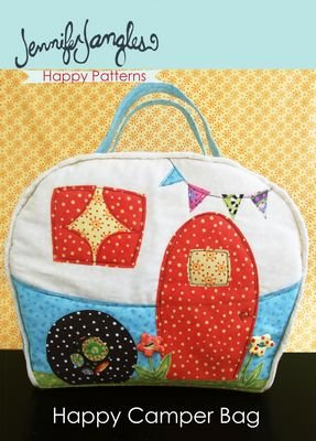 Sewing Pattern Toiletry Bag - 4