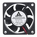 60 x 60 cooling fan - GDSTIME 6cm 60x60x20mm 60mm 2pin 12v Brushless Dc Cooling Fan