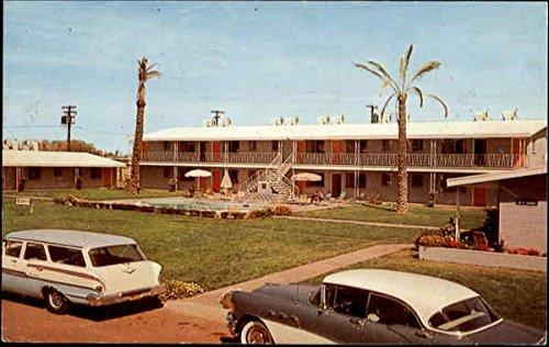 Clifton Apartments, 400-02 W. Pasadena Phoenix, Arizona Original Vintage Postcard