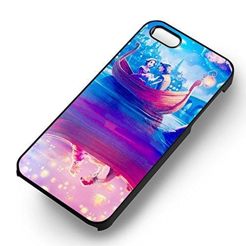 Chic Romantic Night Conoeing pour Coque Iphone 7 Case (Noir Boîtier en plastique dur) D5Q1HT