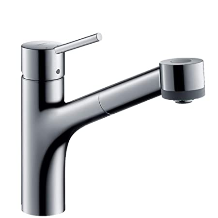 Hansgrohe Talis S Kitchen Tap With Pull Out Spray 150 Swivel Spout
