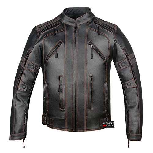 motorcycle vented jacket - 2
