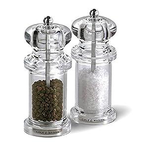 Clmsn Salt & Pep Mill Set Size Set/2 Clmsn Salt & Pep Mill Set Set/2