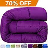 Alternative Comforter - Balichun Twin Goose Down Alternative Comforter, Purple