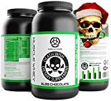 _ Chocolate Gluten Free WHEY Protein by Death Wish Supplements * Grass Fed, Low Fat,Low Sugar Protein Shake for Men & Wome,Meal Replacement Shakes for Weight Loss