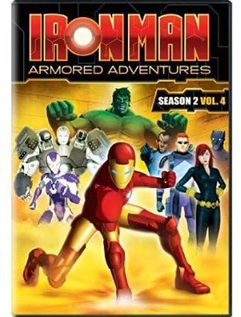 """Résultat de recherche d'images pour """"iron man season 2 vol 4"""""""