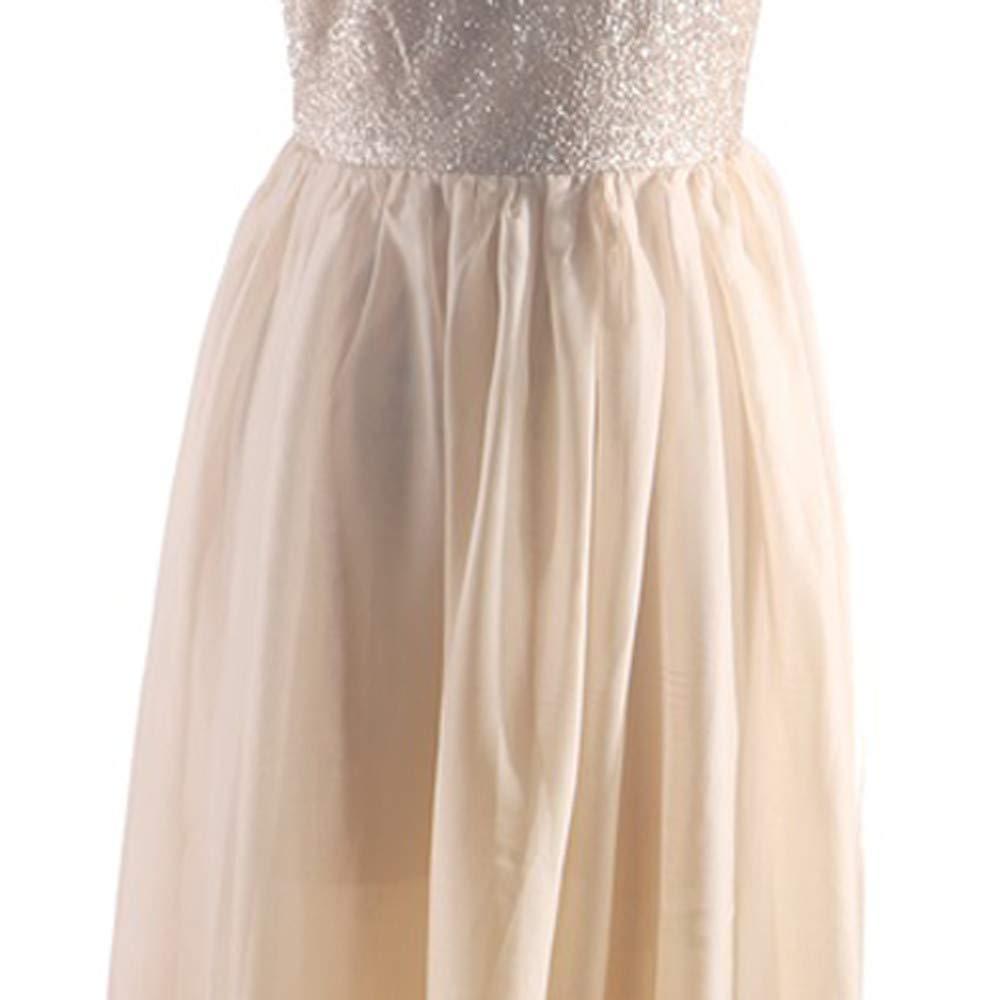 Amazon.com: Ohvivid Vestido sin mangas de lentejuelas para ...