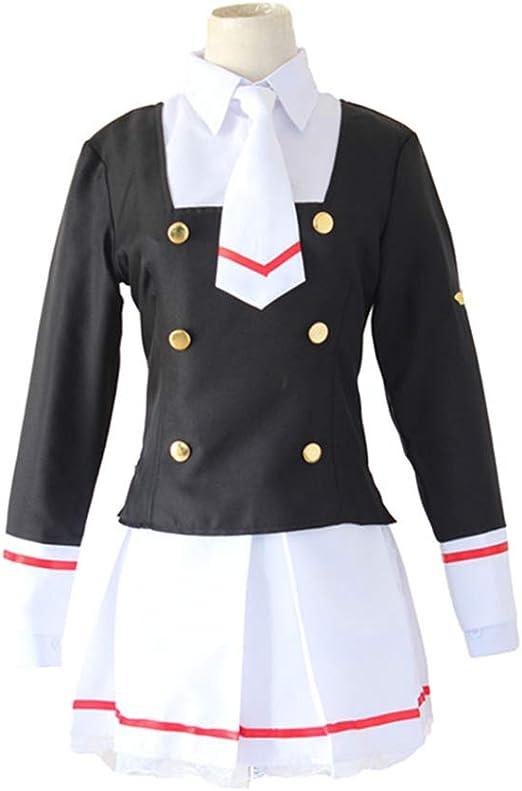 MOOM Animado Uniforme niña de la Escuela, Kinomoto Sakura Japanese ...