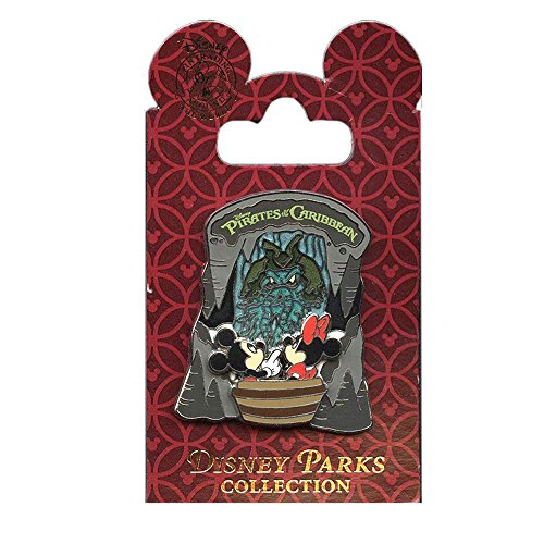 - Disney Parks Pirates of the Caribbean Pin Mickey and Minnie Mouse with Davy Jones