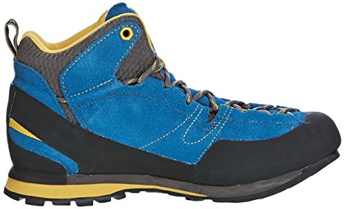 La Sportiva Hombre Boulder X MID GTX–Botas Blue/Yellow