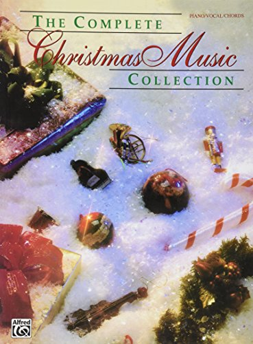 Alfred WB F3350SMD COMPLETE CHRISTMAS MUSIC COLLECTION PVG SNGBK (Standard) (Music Christmas Sheet Eve)